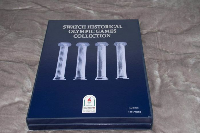 Great Swatch Historical Olympic Games Collection