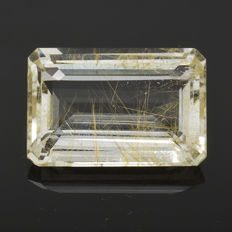 Gold Rutiled Quartz - 22.66 ct.