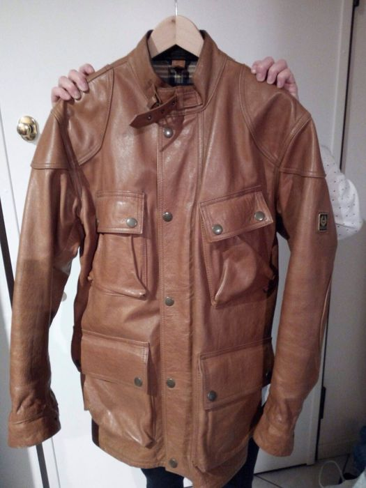 Giacca pelle belstaff panther