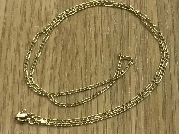 18 kt  Gold Choker Cartier Model No Reserve - Length: 44.10 cm