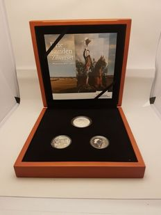 The Netherlands - Three Countries Silver Set 'Waterloo 1815–2015'