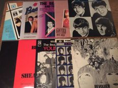 10 Very nice The Beatles albums various countries