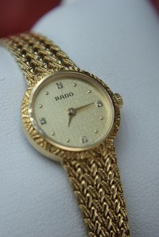RADO - Luxury  Swiss Watch-Bracelet  - UNWORN - With Diamonds - 133.3587.2 - Γυναικεία - 2000-2010