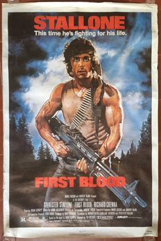 Anonymous - Rambo / First Blood (Sylvester Stallone) - 1982