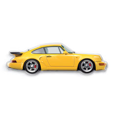 SL - Wall scale model Halmo CollectionPorsche 964 Turbo S