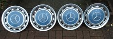 4x Mercedes Benz rims for type W123 - 1978/79
