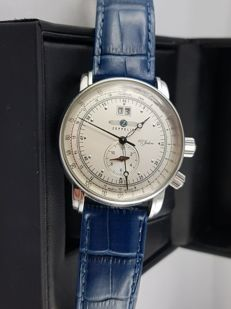 Zeppelin - GMT - Chronograph - 100th anniversary  - Swiss Ronda 6203.B - 男士 - 2011至现在