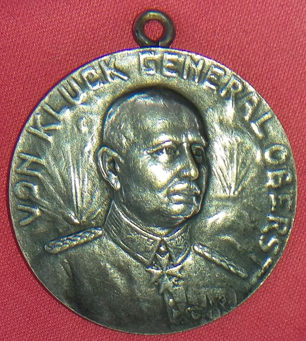 Absolute rarity - WW1 - Medal with battlefield explosion