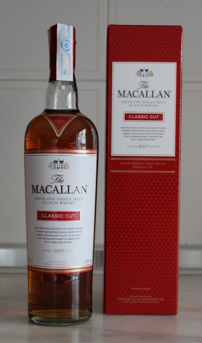 Macallan Classic Cut limited edition