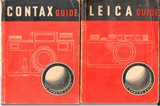 Lot with 2 books - Leica & Contax Guide - 1942/1945