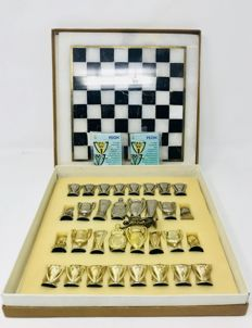 Real Madrid Chess with marble board.