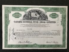 Decorative Lot of 50x Canada General Fund (1954) Limited