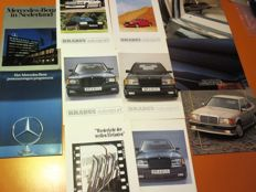Mercedes-Benz brochures, Classic Magazines and other documentation