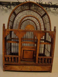 Bird cage, England, first half of the 20th century