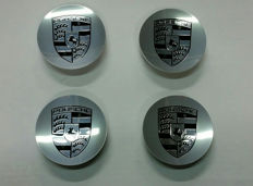 Porsche - 4 pieces hub cap covers