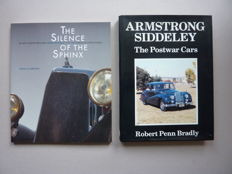 2 books on Armstrong Siddeley ; Armstrong Siddeley , The Postwar Cars , 1989 and The silence of the Sphinx , 1995
