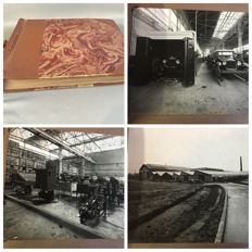 "Photo book with 59 original photos of the ""Ford Motor Company"" - Ca. 1925"