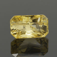 Yellow Canary Sapphire - 1.58 ct.
