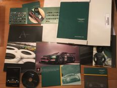 Aston Martin Racing - Le Mans, Spa, Sebring, collection of publicity items: CD's, Books, leaflet - 2005-2008 - DBR9/DBRS9