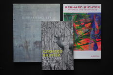 Lot with 3 books on Gerhard Richter - 2002 / 2009