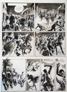 Follet, René - Oublished original page (p.17) - Plus fort que la haine - (2014)