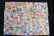 World - Collection of 175 world banknotes