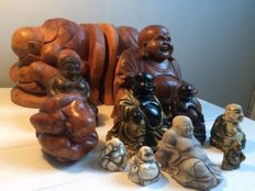 Collection of 12 Buddhas