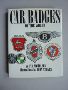 T. R. Nicholson - Car Badges of the world - 1970.