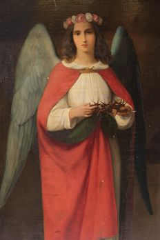 Heinrich Mücke (1806-1891) - Angel with thorn crown