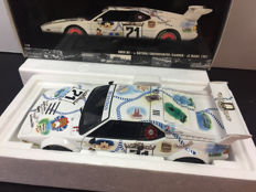 Minichamps - Scale 1/18 - BMW M1  #71 Le Mans 1981