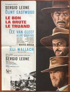 Anonymous - Le Bon, la brute et le truand / The good, the bad and the ugly (Sergio Leone, Clint Eastwood) - 1970