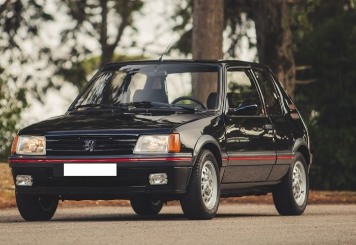 peugeot 205 gti 1 6 1986 catawiki. Black Bedroom Furniture Sets. Home Design Ideas