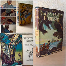Adventure; Daniel Defoe - Robinson Crusoe & Johann David Wyss - The Swiss Family Robinson – 1930s/1940s