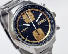 "Seiko ""John Player Special"" Ref 6138-8030 Chronograph Automatic Men's Wrist Watch - circa 1970s"