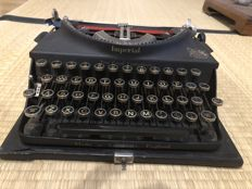 "Old Imperial ""The Good Companion"" Typewriter"