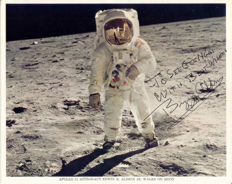 Buzz Aldrin Apollo 11 - signed - One chance only !