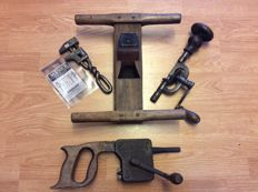 Antique carpentry tools