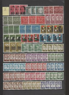 Federal Republic of Germany 1960/1983 collection with all stamps present thrice