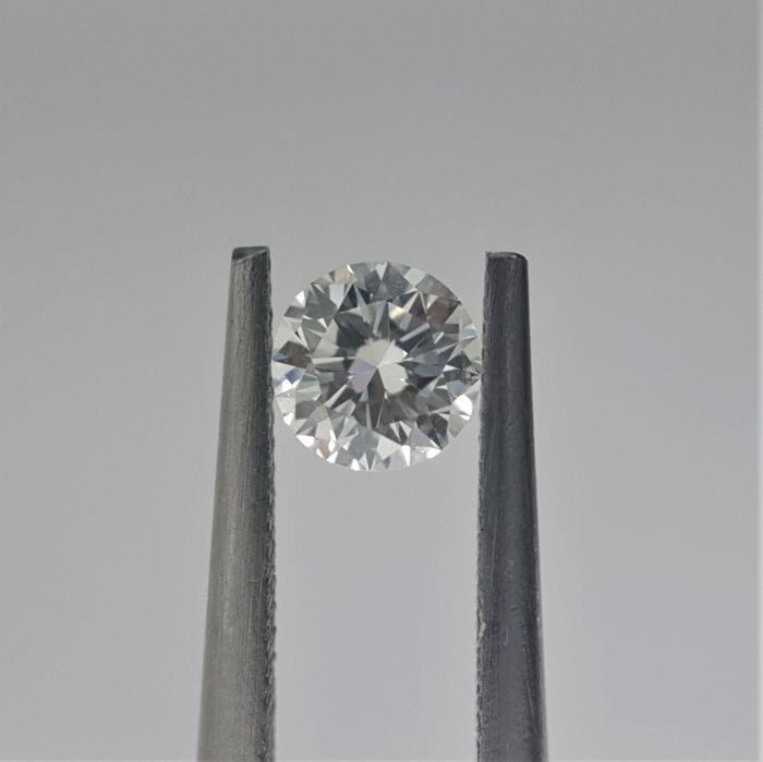 0.38ct Natural Round Brilliant Cut Diamond G VVS1