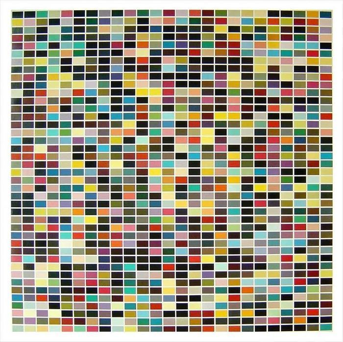 Gerhard Richter - 1025 colors - 1025 colors