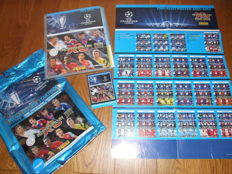 Panini - Champions League 2014/2015 - Adrenalyn - Original album + complete set of 363 cards + 44 limited cards