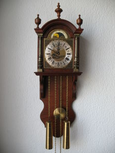 Classic Wall Pendulum Clock, Manufacturer: Thomas Tompion London 1980