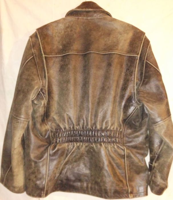 Redskins Leather Jacket Vintage Style Size L Catawiki