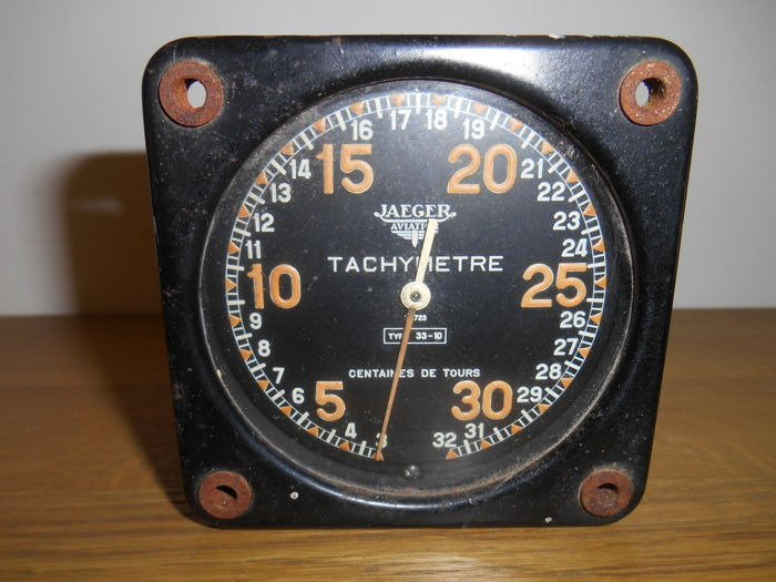 Jaeger altimeter of a Dewoitine D.520 - WWII