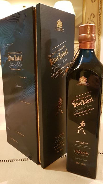 Johnnie walker blue label - Ghost and Rare 46%