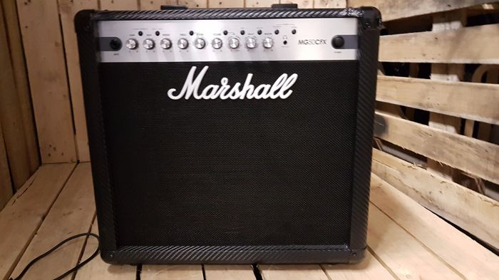 marshall mg50cfx 50w 1x12 guitar amplifier combo with effects catawiki. Black Bedroom Furniture Sets. Home Design Ideas
