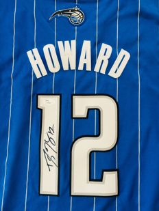 Dwight Howard #12 / Orlando Magic - Authentic & Original Signed Home Jersey - with Certificate of Authenticity JSA