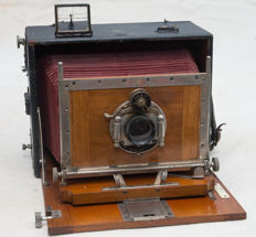 View camera in case Ernemann HEAG VI