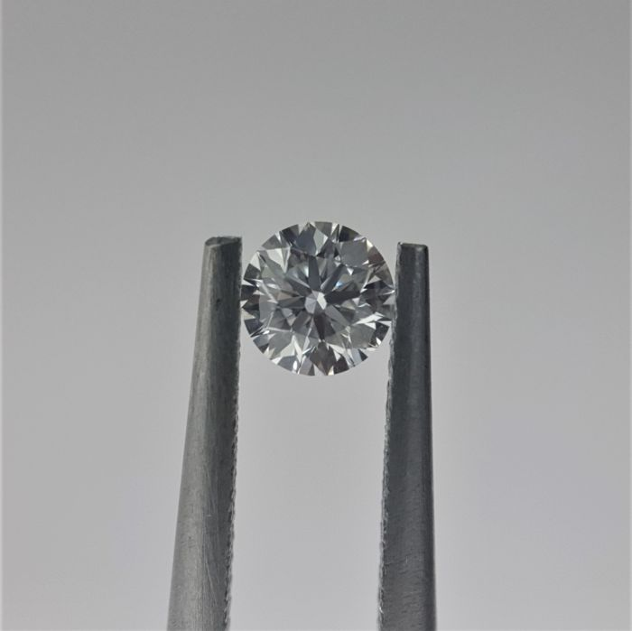 0.24ct Natural Round Brilliant Cut Diamond D VS1 3EX