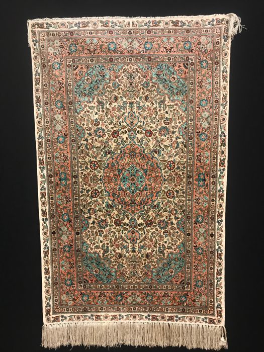 Hereke silk, 120 x 76 cm, China